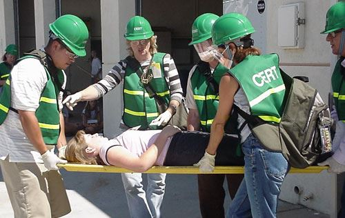 CERT Team in action